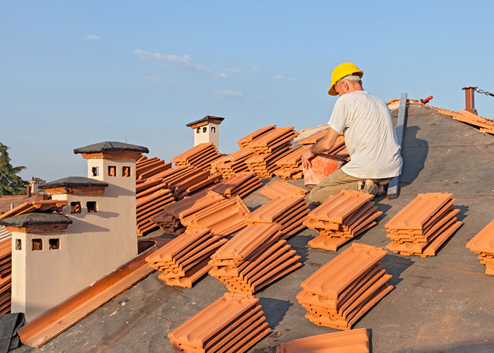 Travaux de couverture toiture
